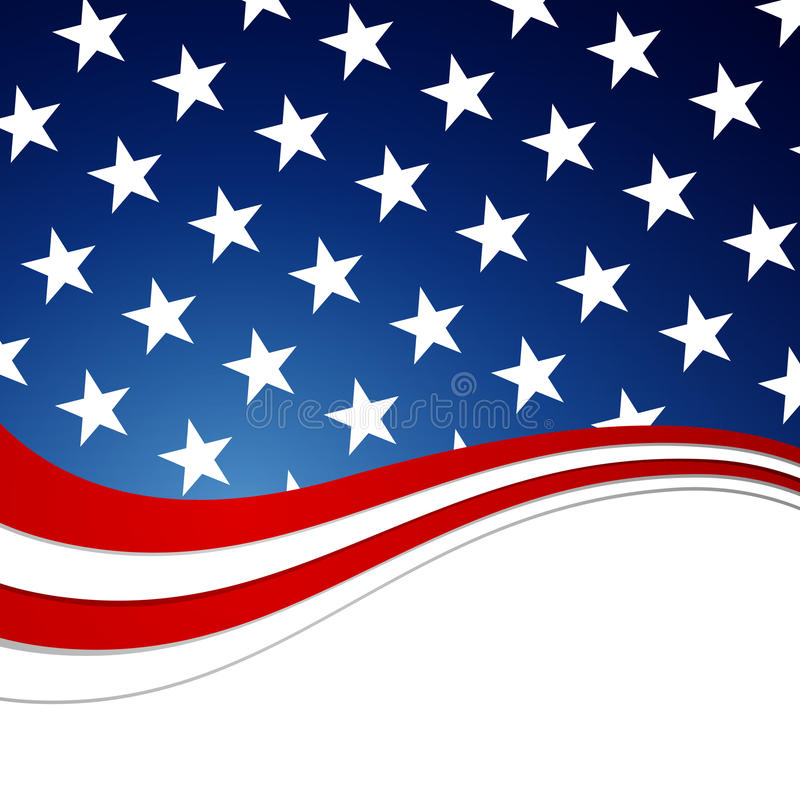 4th of July Background. Illustration of a 4th of July Independence Day Design vector illustration