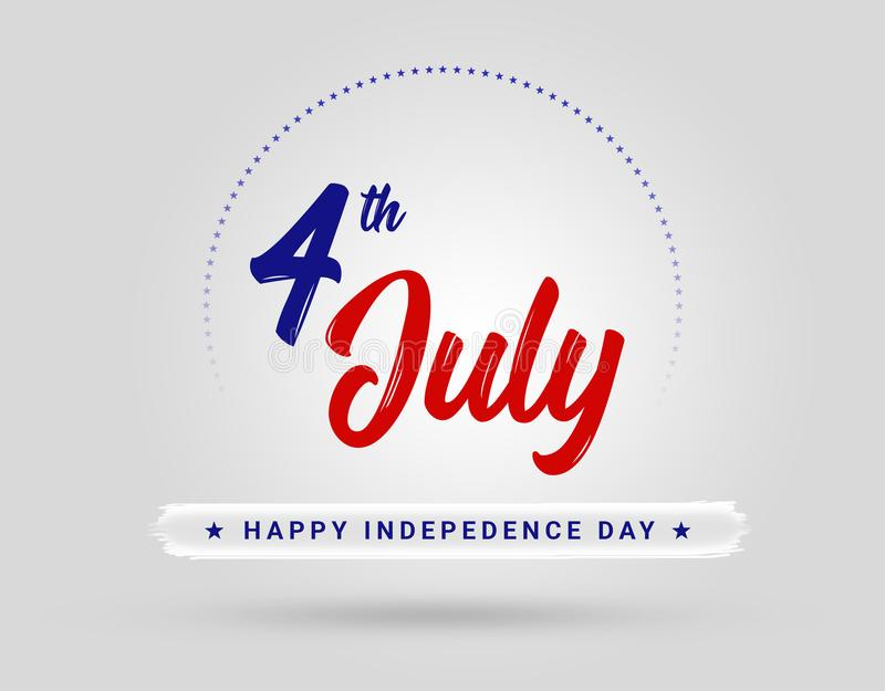4th of July Independence Day USA stock photo