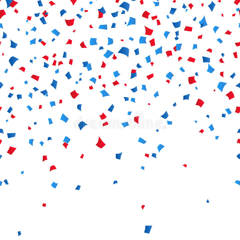 4th of July - Independence day celebration confetti background. vector illusctration vector illustration