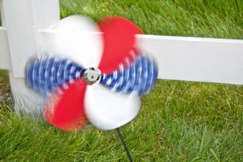 4th of July Pinwheel royalty free stock photo
