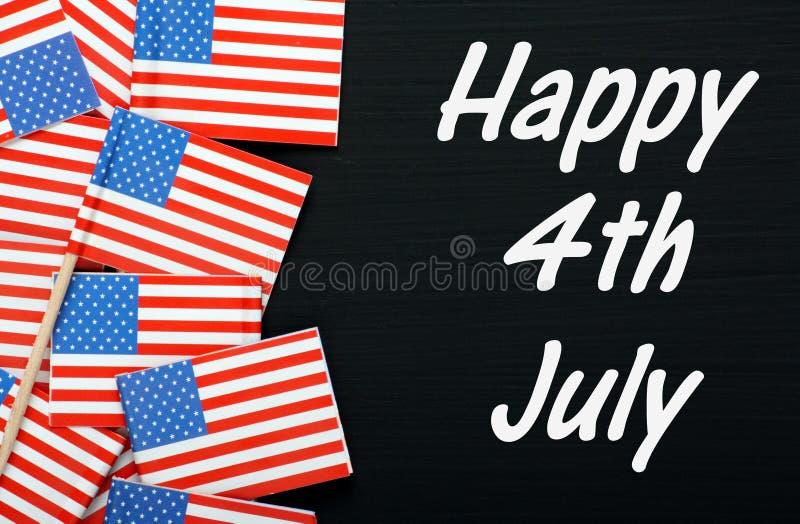 4th lyckliga juli arkivfoton
