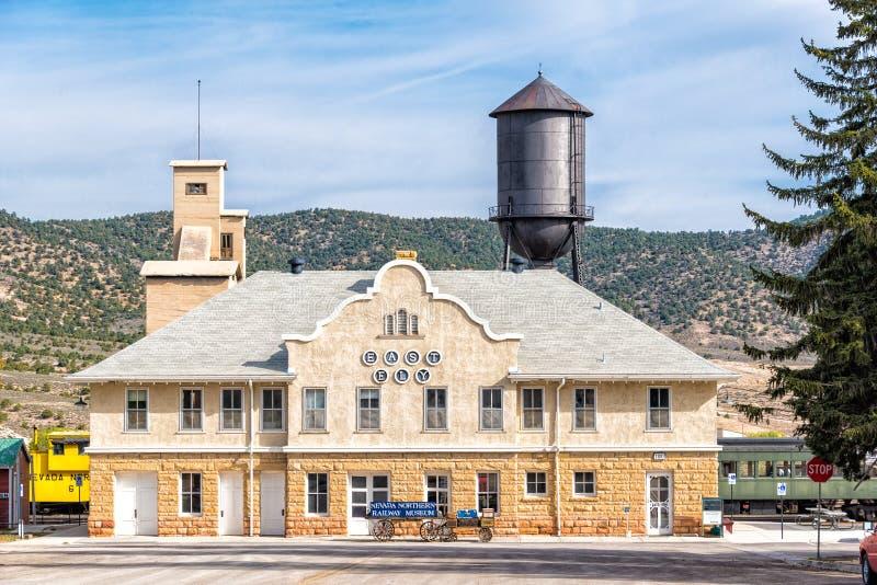11th Nevada Maja 2015 Północny Kolejowy muzeum, Wschodni Ely zdjęcia royalty free