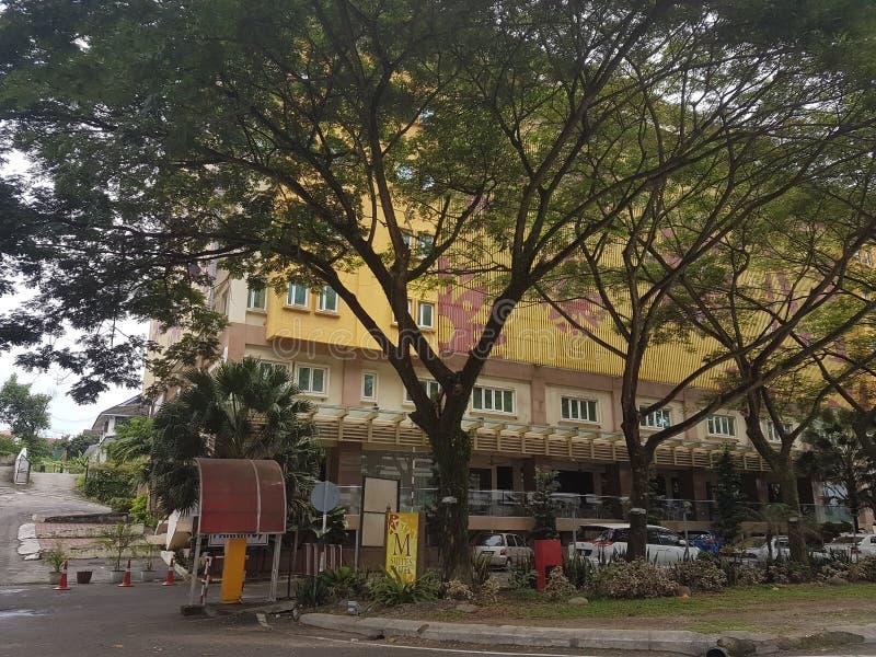 8th Nov 2016 Johor Baru, Malaysia. Restaurant design at M Suite Hotel. Restaurant design in look at M Suite Hitel Johor Baru stock images