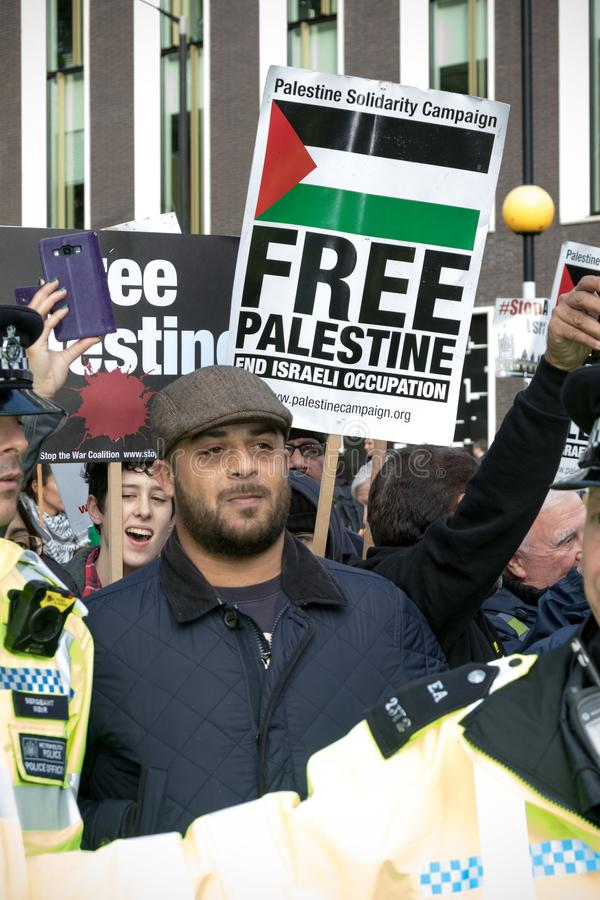 National Demo: Justice Now - Make it right for Palestine London stock image
