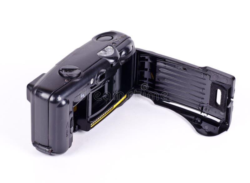 Th otwarty ekranowy przedział kamera zdjęcie royalty free