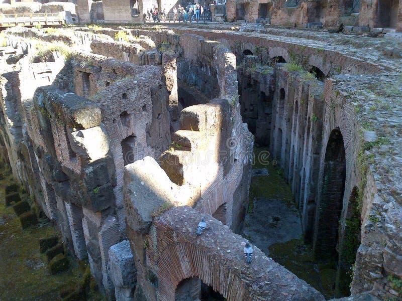 Th-römisches Forum stockfotografie