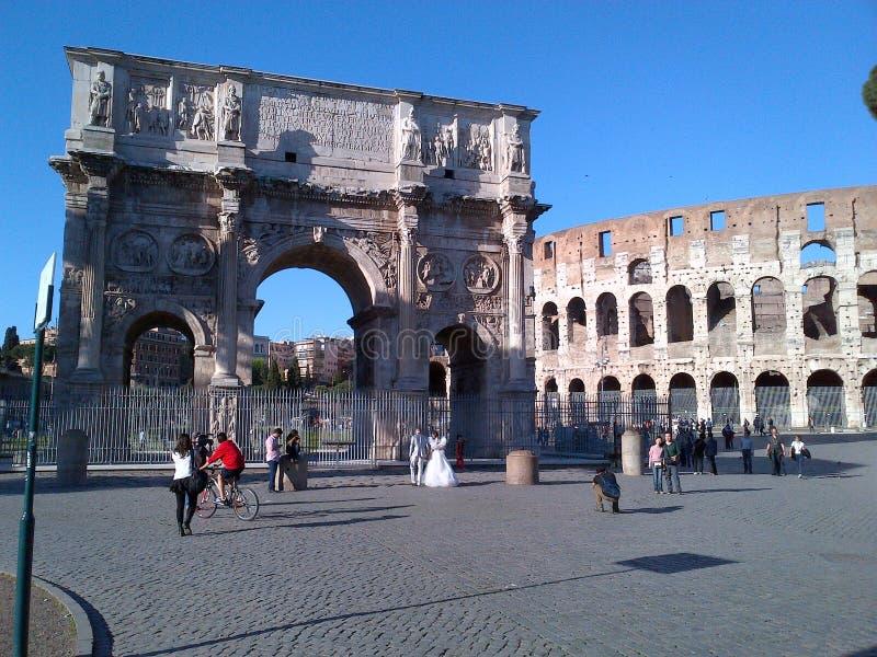 Th-römisches Forum lizenzfreies stockfoto