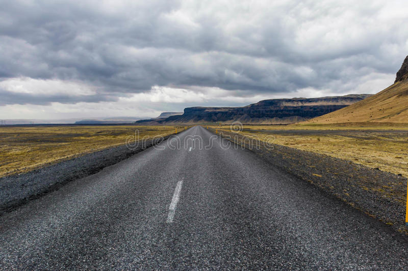 On th road again royalty free stock photography