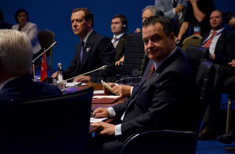 25th Rocznicowy szczyt Czarny Denny Ekonomiczny współpraca BSEC fotografia royalty free