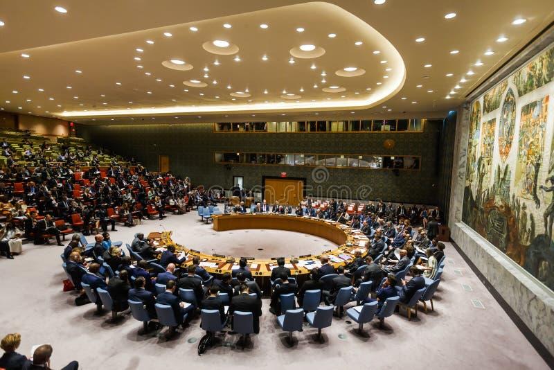 72th sesja UN zgromadzenie ogólne w Nowy Jork obrazy royalty free