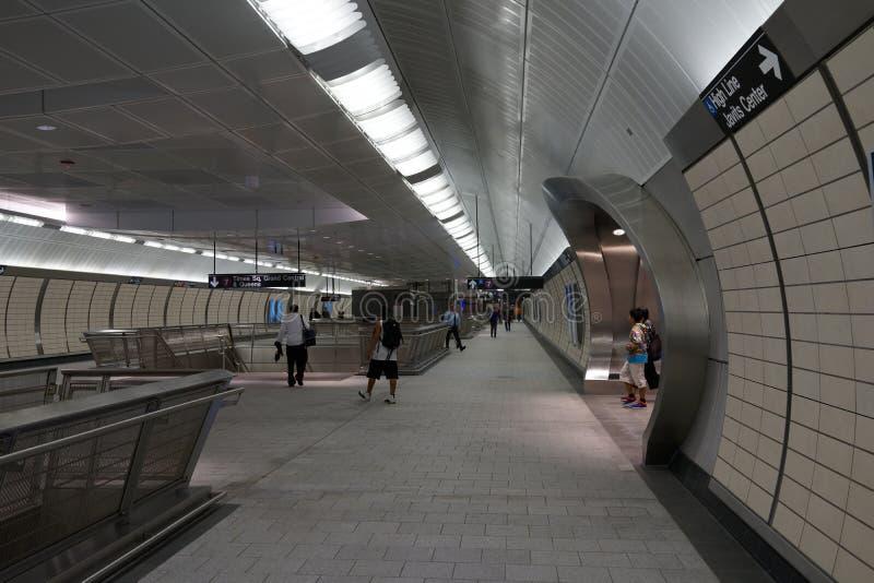 34th St - Hudson jardów stacja metru 35 obraz stock