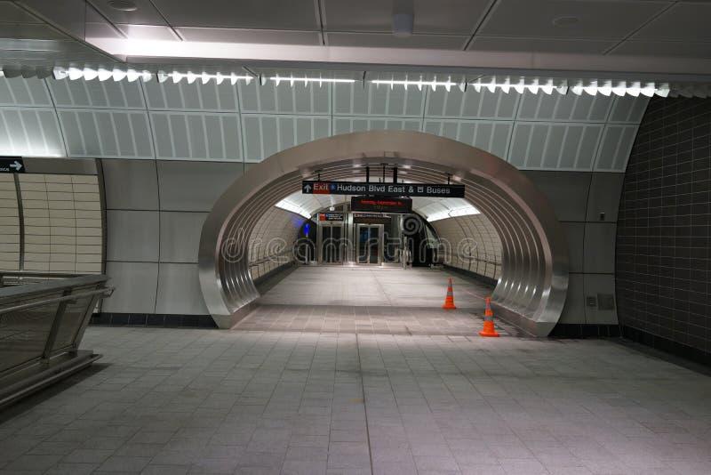 34th St - Hudson Yards Subway Station 62 stock photos