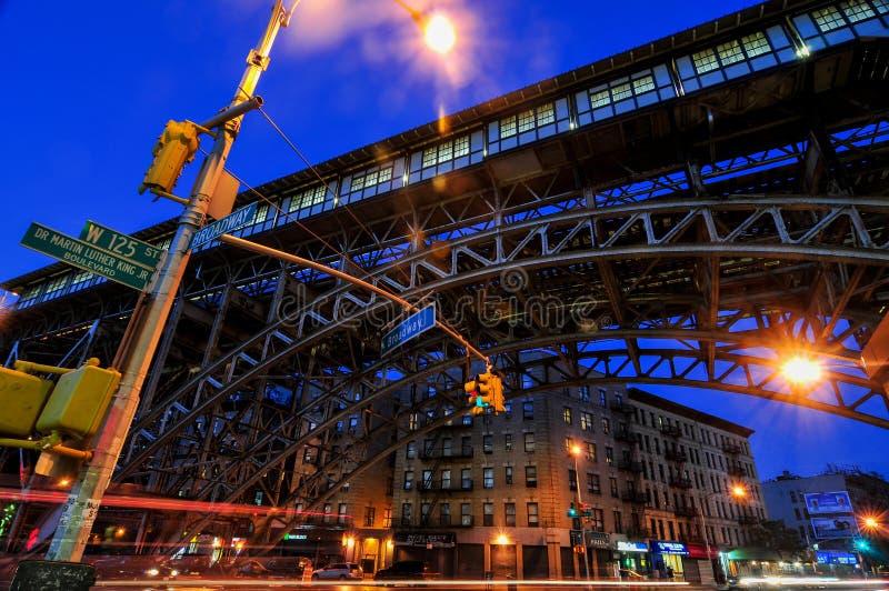 125th stazione della metropolitana della via - New York fotografia stock libera da diritti