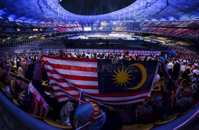 29th sydostliga asiatiska spelenSEA games arkivbild