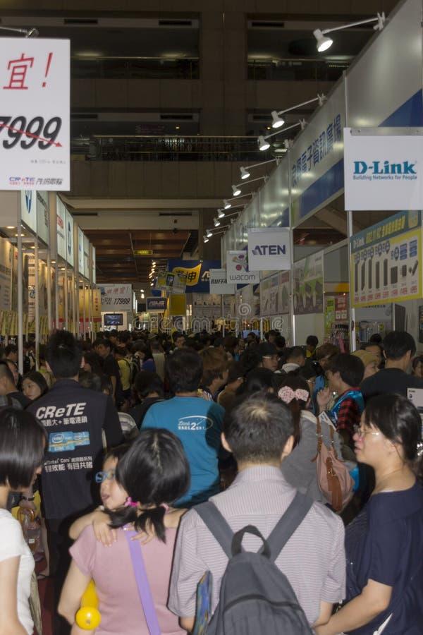 14th Taipei multimedie, Obłoczni przemysły & Marketingowy expo, obrazy stock