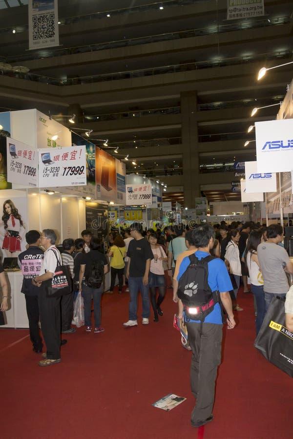 14th Taipei multimedie, Obłoczni przemysły & Marketingowy expo, obrazy royalty free
