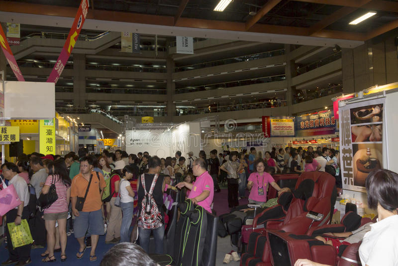 14th Taipei multimedie, Obłoczni przemysły & Marketingowy expo, zdjęcie royalty free