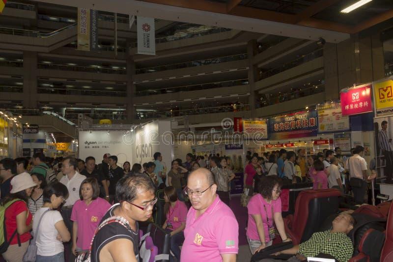 14th Taipei multimedie, Obłoczni przemysły & Marketingowy expo, fotografia stock
