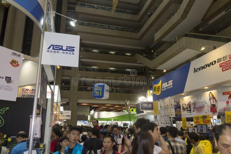 14th Taipei multimedie, Obłoczni przemysły & Marketingowy expo, zdjęcie stock
