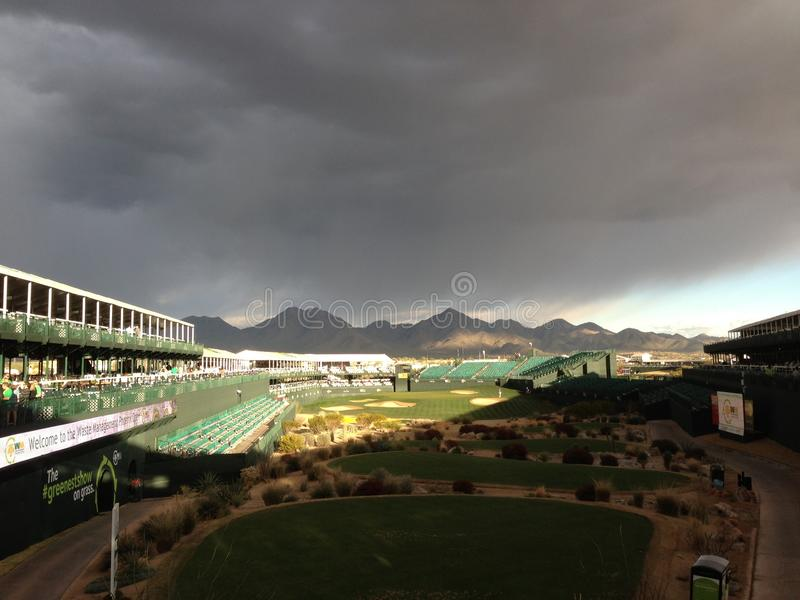 16th Tee At The Phoenix Open stock images