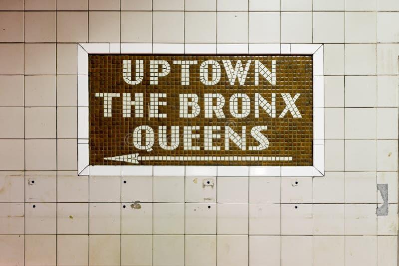 34th Uliczna stacja metru - Miasto Nowy Jork zdjęcia royalty free