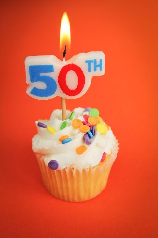 50th urodziny zdjęcie stock