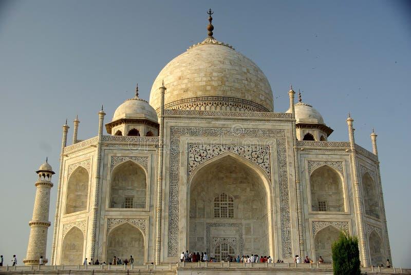 Tha Taj Mahal, India stock afbeeldingen
