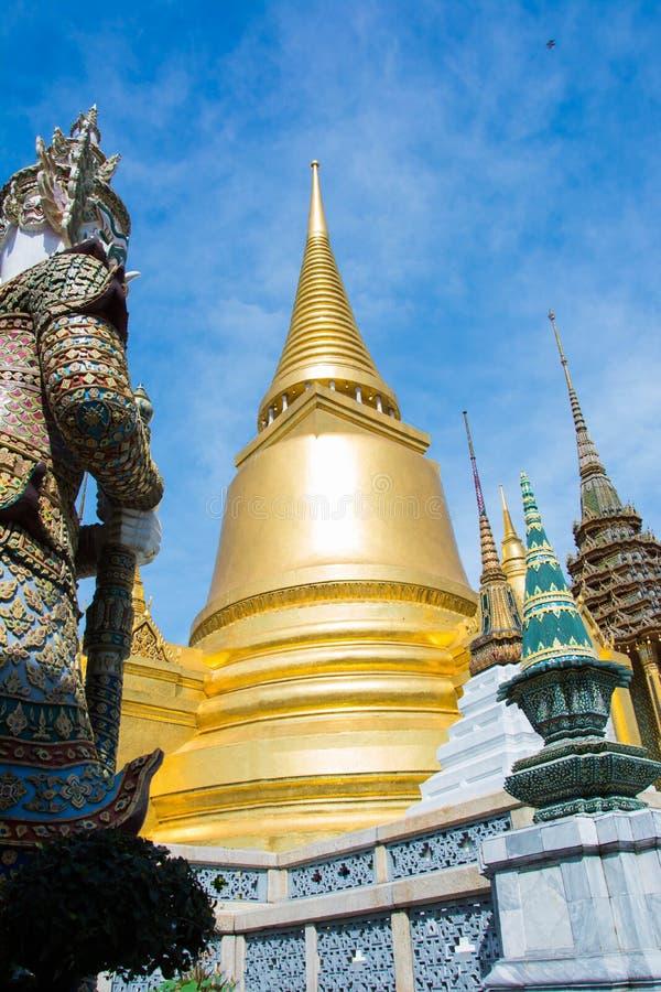 Tha tempel av Emerald Buddha från Thailand royaltyfri bild