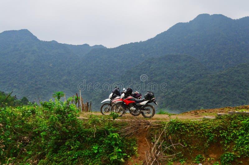 Thac MU, μοτοσικλέτα στο Βιετνάμ στοκ εικόνες με δικαίωμα ελεύθερης χρήσης