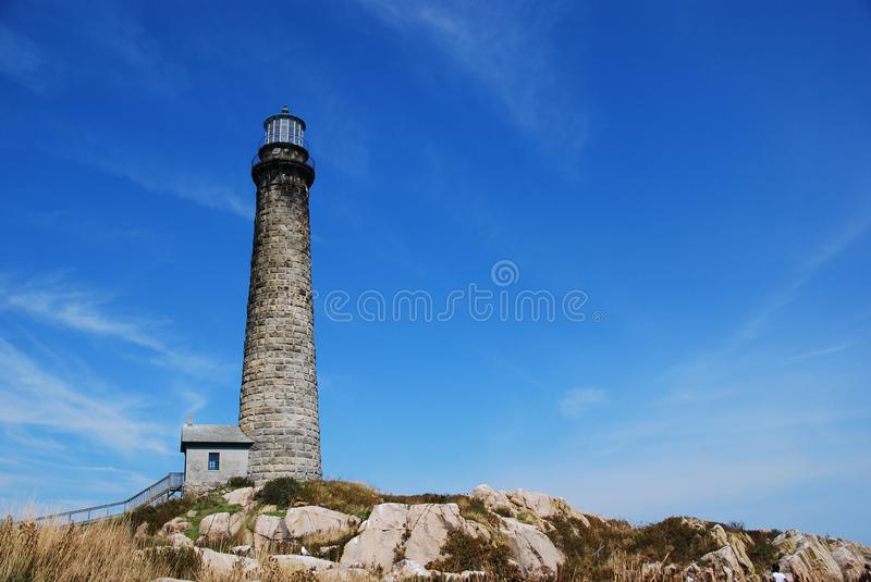Thacher's Island royalty free stock photography