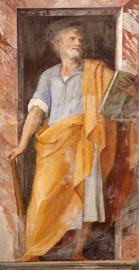 thaddeus святой rome краски jude стоковое фото