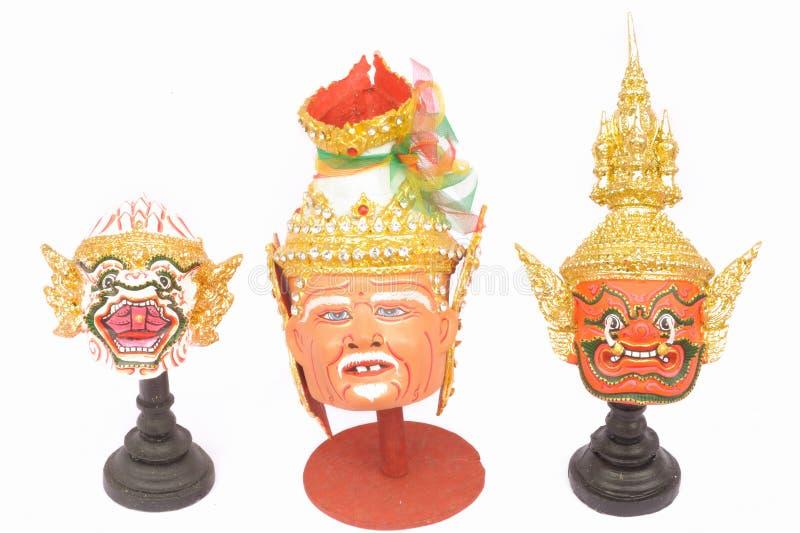 Download Thai Actor's Mask Ramayana - Headed. Stock Photo - Image: 24562218