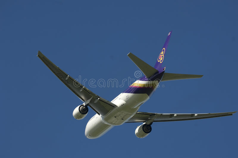 Download Thai Airways A320 editorial photography. Image of destination - 10836207
