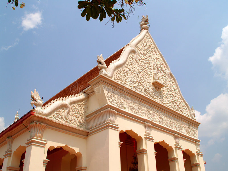 Thai architecture 01 royalty free stock photography