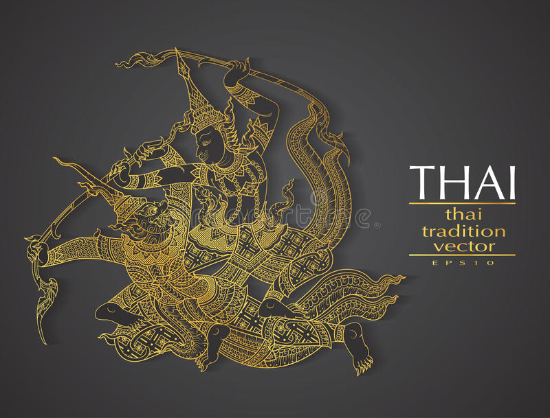 Thai art element traditional gold for greeting cards stock vector download thai art element traditional gold for greeting cards stock vector illustration of pattern m4hsunfo