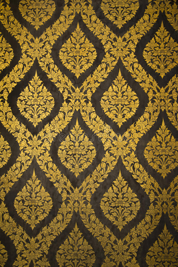 Thai Art Pattern royalty free stock images
