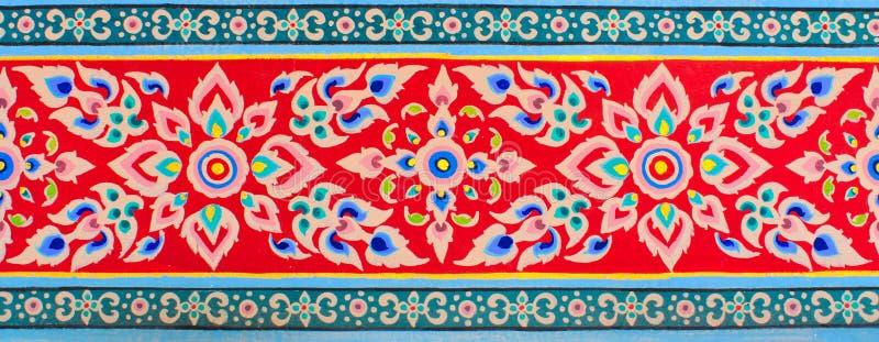 Thai art texture stock images