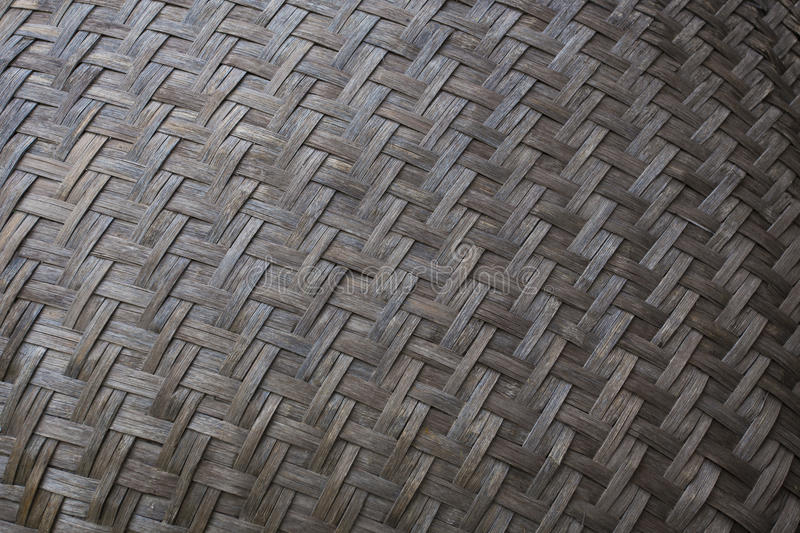 Thai basketwork texture. Thai style basketwork from bamboo texture stock photos
