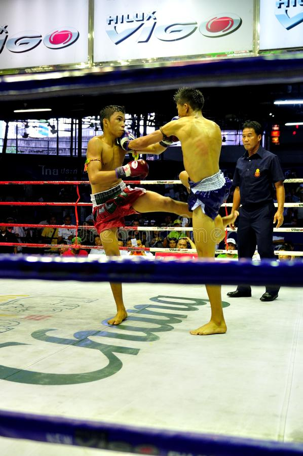 Thai Boxing royalty free stock photos