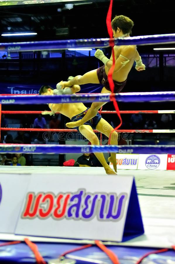 Thai Boxing royalty free stock photography