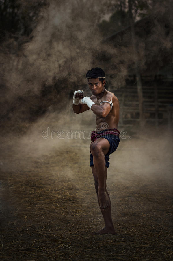 Thai Boxing royalty free stock images