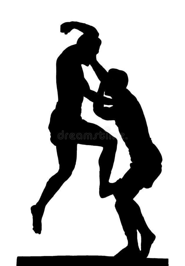 Thai Boxing Symbol Stock Photography