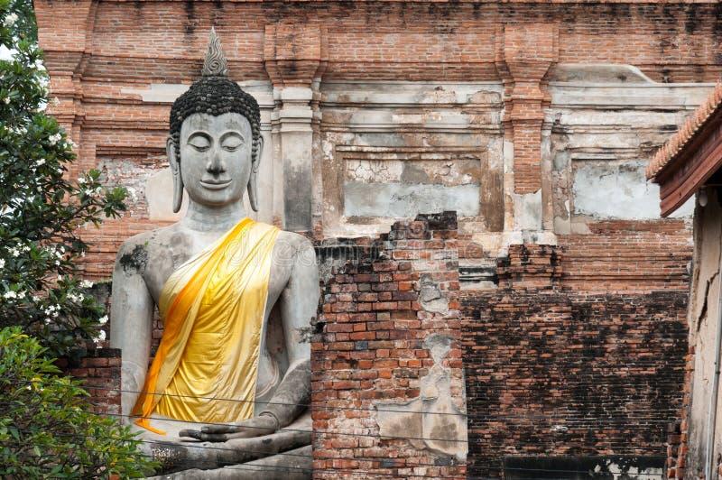 Download Thai Buddha statue stock image. Image of calm, sukhotai - 23079303