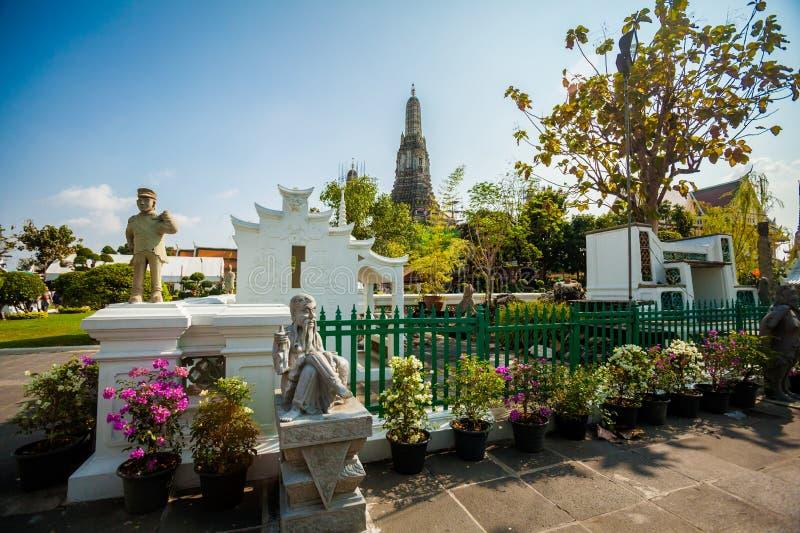 Thai buddhism temple Wat Arun royalty free stock image