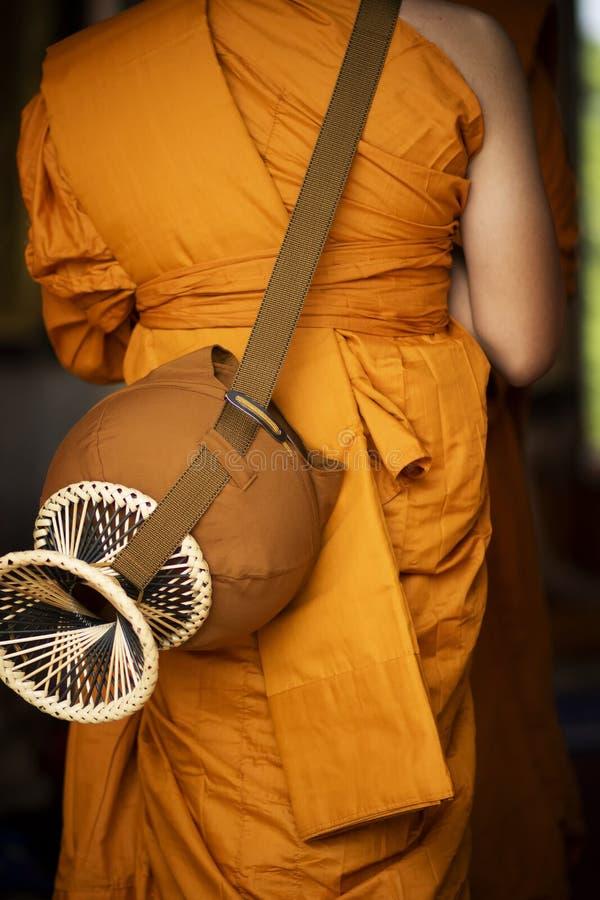 Thai buddhist monk and religon clothing. Thai buddhist monk and religon    clothing royalty free stock photos