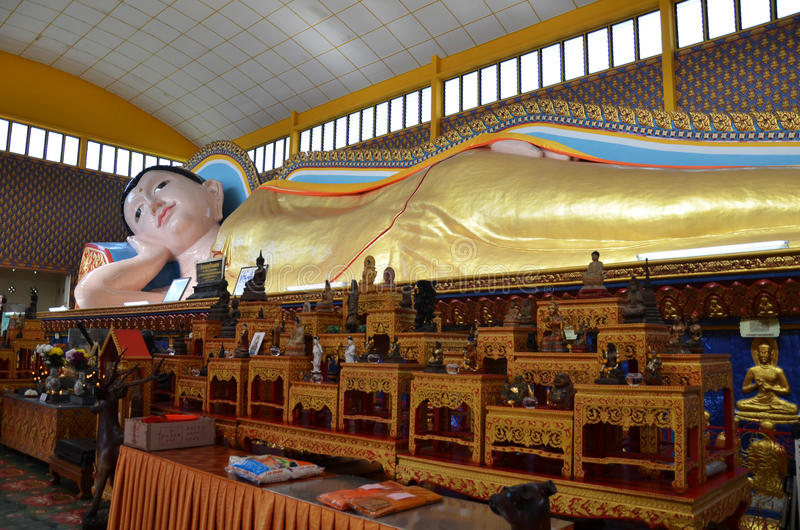 Thai Buddhist Temple in Penang Malaysia royalty free stock photography