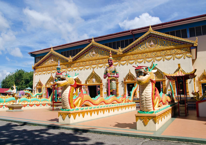 Download Thai Buddhist Temple In Penang, Malaysia Stock Image - Image: 31442451