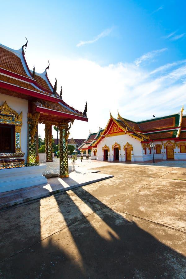Thai buddist temple royalty free stock image