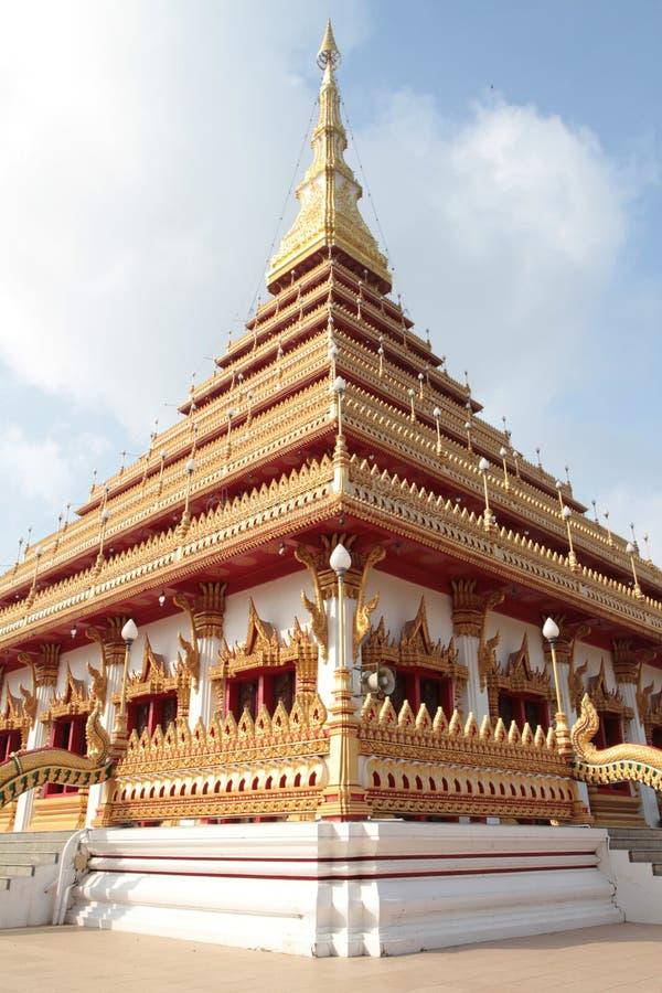 Thai buddist temple stock photo