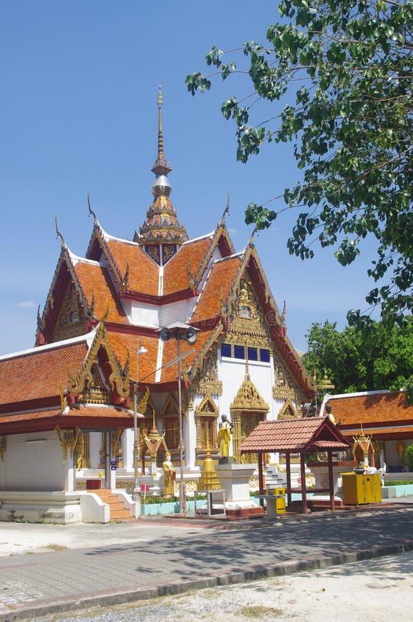 Thai Buddist Temple in Hatyai stock photos